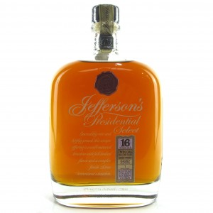 Jefferson's Presidential Select 16 Year Old / Twin Oak Finish