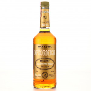 McCormick Gold Label Bourbon 1988