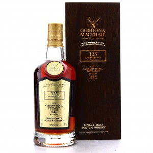 Glenury Royal 1984 Gordon and MacPhail 35 Year Old / 125th Anniversary Edition