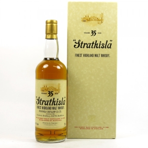 Strathisla 35 Year Old Bicentenary / Including Scarf and bag