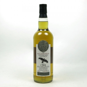 Littlemill 1988 Exclusive Malts 25 Year Old 75cl Front