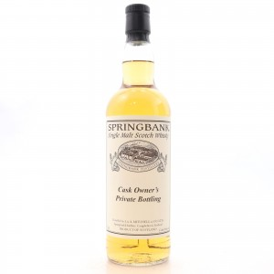 Springbank 1997 Private Cask #128 / One of 24 Bottles