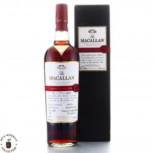 Macallan 1995-1996 Easter Elchies 2008