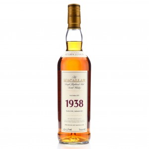 Macallan 1938 Fine and Rare 35 Year Old