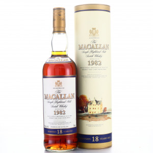 Macallan 1982 18 Year Old / Maxxium Australia Import