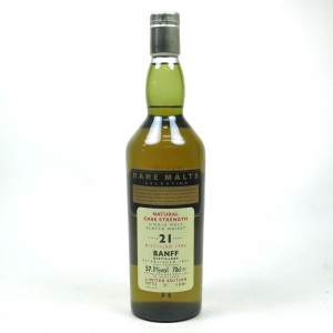 Banff 1982 Rare Malt 21 Year Old Front