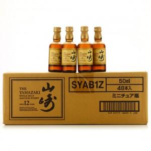Yamazaki 12 Year Old Miniature x 48 / Case