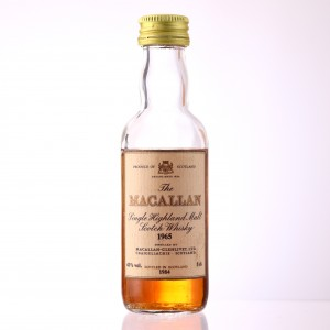 Macallan 1965 18 Year Old Miniature