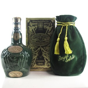 Chivas 21 Year Old Royal Salute Emerald Flagon 75cl / US Import