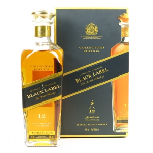 Johnnie Walker 12 Year Old Black Label Collectors Edition