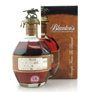 Blanton's Straight from the Barrel Dumped 2015