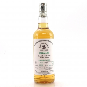 Macallan 1990 Signatory Vintage 14 Year Old 75cl / US Import