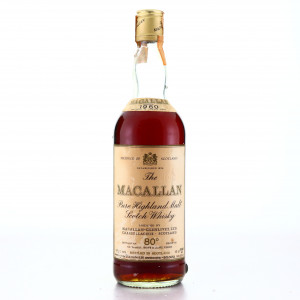 Macallan 1960 Campbell, Hope and King 80 Proof / Rinaldi Import