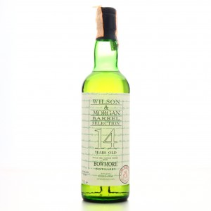 Bowmore 1981 Wilson and Morgan 14 Year Old Cask Strength