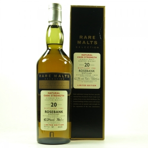 Rosebank 1981 Rare Malt 20 Year Old