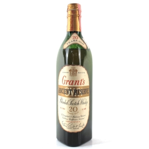 Grant's 20 Year Old Ancient Reserve 1960s / US Import