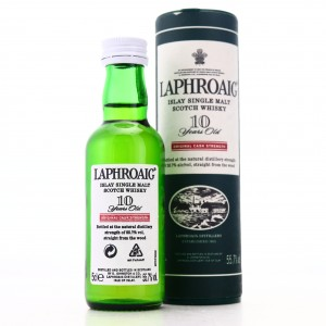 Laphroaig 10 Year Old Original Cask Strength Miniature / 55.7%