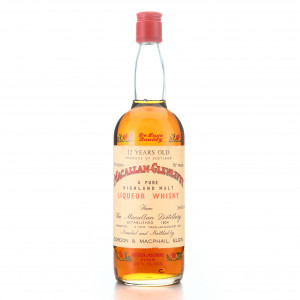 Macallan 12 Year Old Gordon and MacPhail 1970s