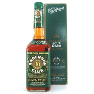 Anderson Club 10 Year Old Kentucky Bourbon 1990s