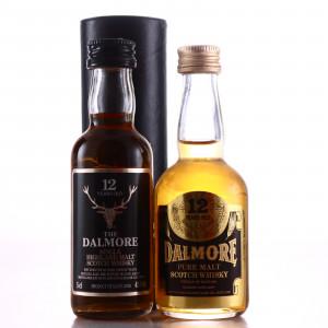 Dalmore Miniature x 2