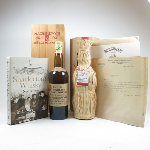 Mackinlay's Shackleton Replica (1st Edition and 2nd Edition) including Book