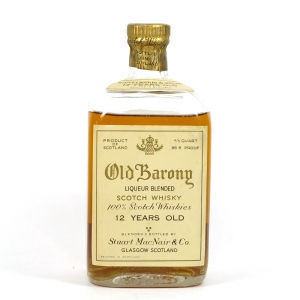 Old Barony 12 Year Old 1940s