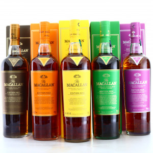 Macallan Edition No.1-5 Collection x 5