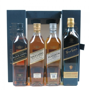Johnnie Walker Collection 4 x 20cl Front