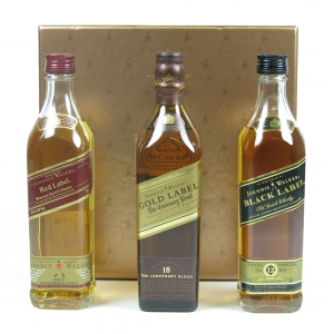 Johnnie Walker Collection 3 x 20cl Front