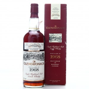 Glendronach 1968 Single Cask 25 Year Old #10 / All Nippon Airways