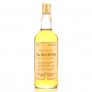 Balvenie 1975 Robert Watson Over Proof