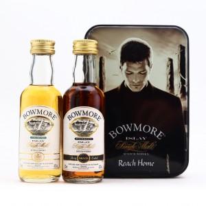 Bowmore Reach Home Miniature Gift Set / Legend & Darkest