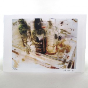 Ardbeg Tasting - Hand Signed by Artist Ian Gray 300g Watercolour Paper