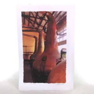 Caol Ila Still Print - Hand Signed by Artist Ian Gray 300g Watercolour Paper