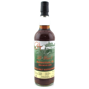 Ben Nevis 2006 Le Gus't 10 Year Old / Sherry Butt