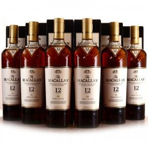 Macallan 12 Year Old Sherry Oak 6 x 70cl
