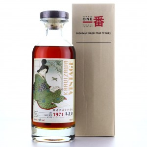 Karuizawa 1971 Single Cask #7267 / Geisha Label
