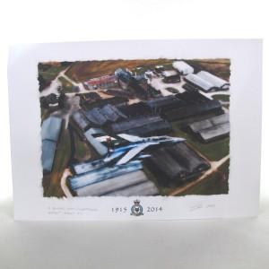 Glenfarclas Birdseye Print / No.12 Squadron RAF - Hand Signed by Artist Ian Gray