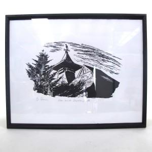 Framed Glen Keith Distillery Print