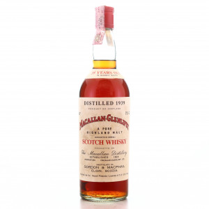 Macallan 1939 Gordon and MacPhail 35 Year Old / Co. Pinerolo Import