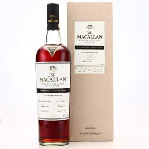 Macallan 2003 Exceptional Cask #8841-03 / 2017 Release