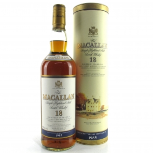 Macallan 1985 18 Year Old 75cl / US Import
