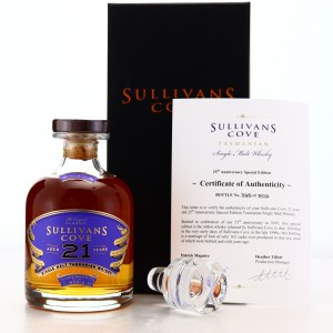 Sullivans Cove 21 Year Old