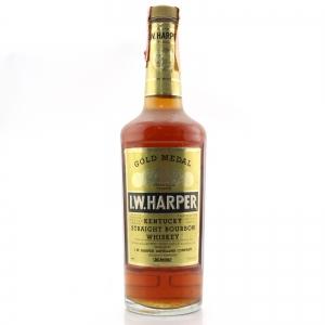 I.W. Harper Gold Medal Kentucky Straight Bourbon 1980s / Stock Import