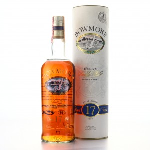 Bowmore 17 Year Old 1990s Sceen Print Label