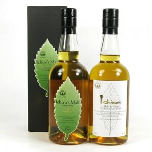 Ichiro's Malt Double Distilleries and Malt and Grain 2 x 70cl