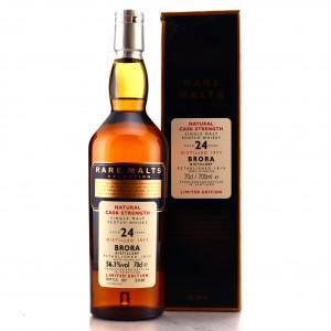 Brora 1977 Rare Malt 24 Year Old / 56.1%