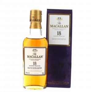 Macallan 18 Year Old Miniature