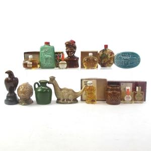 Miscellaneous Whisky Decanter Miniatures x 14