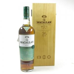 Macallan 25 Year Old Fine Oak Front